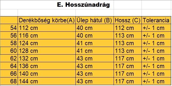 nagyméretű-férfi-oldalzsebes-hosszúnadrág-mérettáblázat