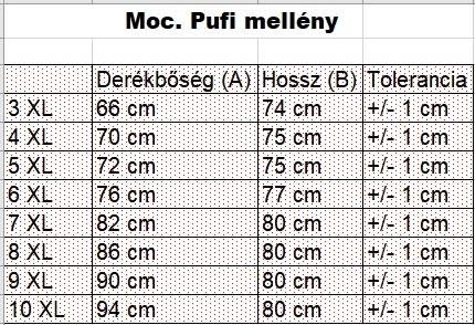 férfi-nagyméretű-pufi-mellény-mérettáblázat